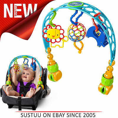 Oball Flex 'n Go Activity Arch Take-Along Toy│Attaches To Stroller/Pushchair│0m+