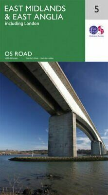 East Midlands & East Anglia by Ordnance Survey 9780319263471