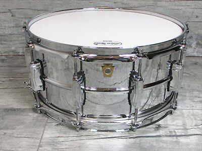 """Ludwig LM-402  Supraphonic 14"""" x 6,5""""  USA Snare Snaredrum    *TOPZUSTAND*"""