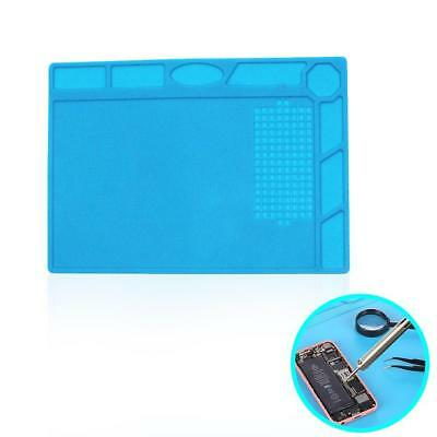 Anti Static Repair Heat Insulation 33.7*22.7cm Silicone Pad Desk Magnetic`