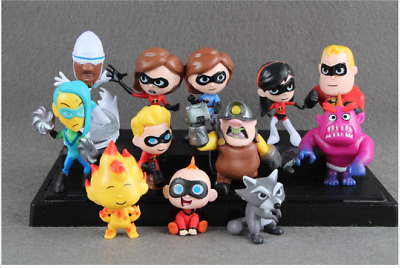 The Incredibles 2 Disney Pixar Action Figure Jack Toy Incredible New Mr Doll Set