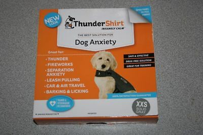 ThunderShirt Insanely Dog Anxiety XXS/ USED/ damage box