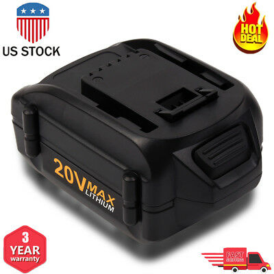 4.0Ah 20V For Worx WA3520 WA3525 Max Lithium Extend Battery WG151 WG155 WG163 US
