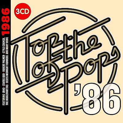Top Of The Pops 1986 3 Cd Set - New Release 2018