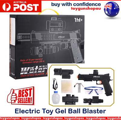 HOT SALE STD M1911 Electric Toy Gel Ball Blaster 7-8mm Gel Ball Gun Ammo Cs-007