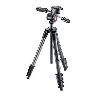 Manfrotto Compact Advanced Tripod - Black - Unit Only - VG