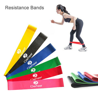 Heavy Duty Rubber Resistance Bands Loop Fitness Workout Yoga Pilate Training lot