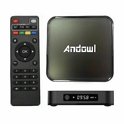 Smart Tv Box 4K Otg Wi-Fi Android 7.1 3Gb Ram 32Gb Rom Amlogic S905 Quad Core