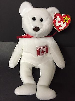 "TY MAPLE Beanie Baby With Tag Error ( Misspelled ""Gosport ""As "" Gasport"" )"