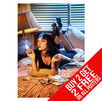Pulp Fiction Poster Bb4 Print A4 A3 Size - Buy 2 Get Any 2 Free