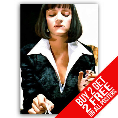Pulp Fiction Poster Bb5 Print A4 A3 Size - Buy 2 Get Any 2 Free