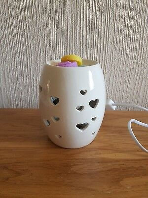 Heart Electric Wax Melt Burner Aromatise Tart Warmer  Candle Tart GREAT GIFT