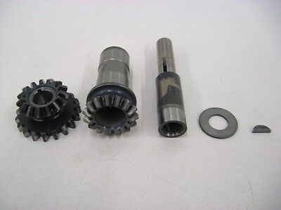 Governor Drive Gears and Shaft from Lycoming IO-540 for Homebuit Use - Lot A388