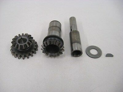 Governor Drive Gears and Shaft from a Lycoming IO-540 for Homebuilt - Lot A387
