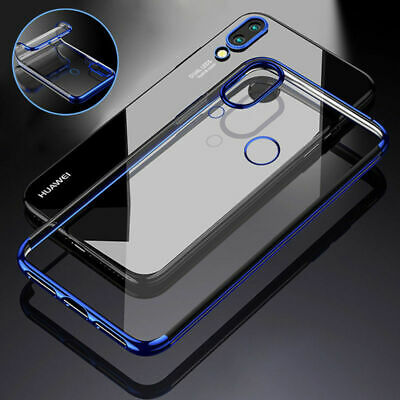 For Huawei P20 Pro Lite Luxury Ultra Thin Silm Soft Silicone Clear Case Cover