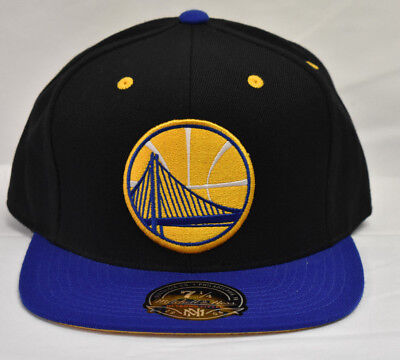 competitive price d9189 59898 Mitchell  Ness Mens NBA Golden State Warriors Fitted Cap Hat New Pick Size