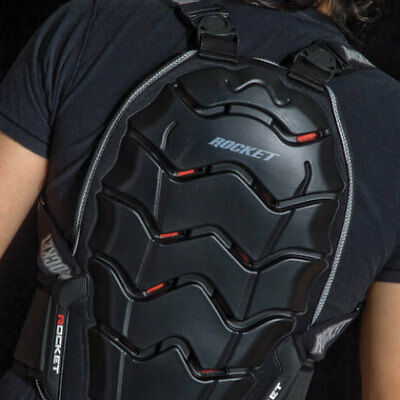 Joe Rocket Speedmaster 2.0 CE Rated Articulated Motorcycle Riding Back Protector