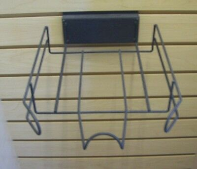 Store Display Fixtures 3 BALL CAP DISPLAYS FOR SLATWALL or RECTANGLE TUBING
