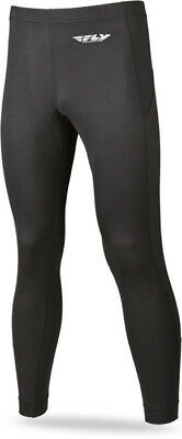 Fly Racing Snow Black Heavy Weight Cold Weather Winter Base Layer Pant Bottom