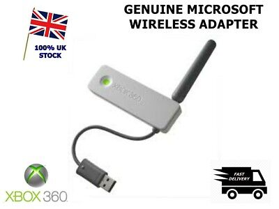 Official MICROSOFT Xbox 360 Wireless G Network Wifi Adapter -1ST CLASS POST