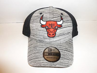 dc7c796d82b CHICAGO BULLS NEW Era NBA 39THIRTY Shade Neo Mesh Stretch Flex Cap ...