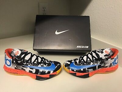 competitive price 444a3 3e53e Nike Id Kevin Durant Mvp Kd Vi 6 What The Wtkd 653743-993 Shoes Mens