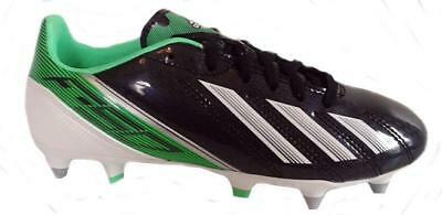 low cost cee02 69470 Adidas F10 TRX FG Black Green White Soccer Cleats Shoes G65348 NEW!