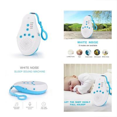 Sound Therapy Machine, Portable White Noise With Auto-Off Timer, Voice Recorder