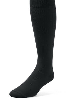 EMEM Men's Mild Compression Over the Calf Socks 12-15 mmHg 2-Pack, Big and Tall