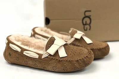 e112fe07a3e UGG AUSTRALIA AIRA Sunshine Perf Chestnut Slippers Shoes 1019201 ...