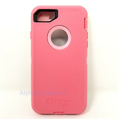 OtterBox Defender Series Case for iPhone 8 and iPhone 7(Rosmarine/Pipeline Pink)
