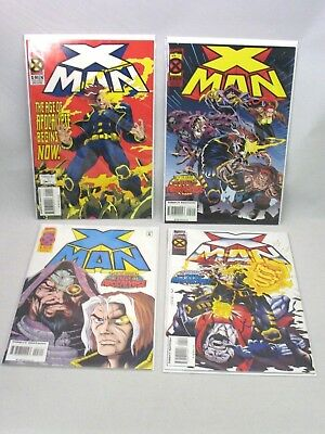 1995 Marvel Comics X-Man #1-4 Set After Xavier: The Age of Apocalypse X-Men