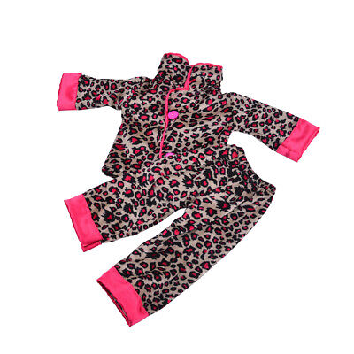 PJS Pajamas Sleepwear for American Girl Our Generation 18 inch Doll Clothes