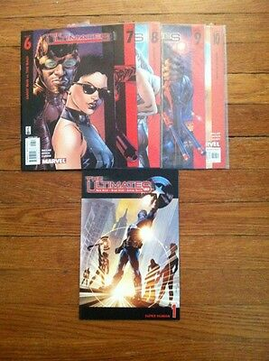 THE ULTIMATES 1, 6-10 Modern Age series by Mark Millar!! NM