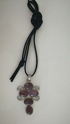 Code 626 Archangel Michael Amethyst Infused Necklace Doreen Virtue Certified
