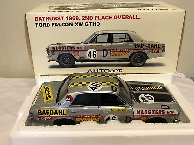 1:18 AutoArt - Ford Falcon XW GTHO Bathurst 1969 2nd Place Overall Bruce Mcphee