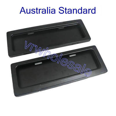 Australian Curtain Shutter Electronic Remote Control License Number Plate Frame