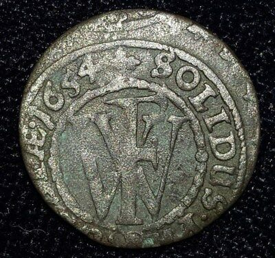 1654, 1/32 Thaler from Prussia, Germany.  No Reserve!