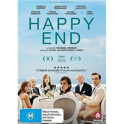 Happy End Dvd, New & Sealed, Region 4, 2018 Release Free Post