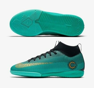 e130cc6fd Nike C. Ronaldo Mercurialx Superfly Vi Academy Cr7 Ic Youth Indoor Soccer  Shoes.