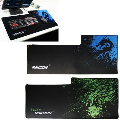 900x400mm Mouse Mat Gaming Pad Anti-slip Large Speed Breach For Laptop Computer