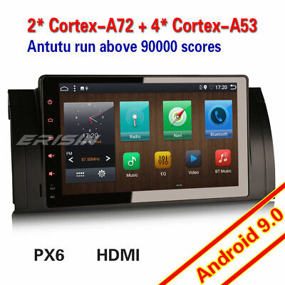 """DAB+Car stereo for BMW 5 Series E39 E53 X5 M5 9""""Android 8.0 Sat Nav GPS 4G OBD"""