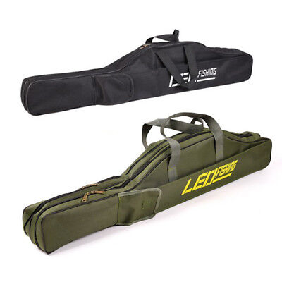 Carry Oxford Carp Fishing Rod Tackle Bag Case Padded Luggage Holdall