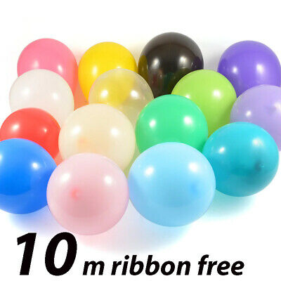 WHOLESALE 5-100 Helium// air Balloons shape Weights Colours PD ribbons Balon weig