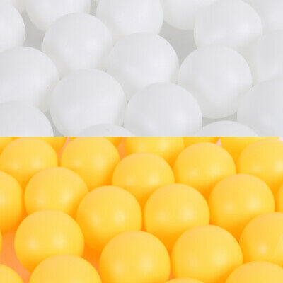 150pc 40mm Table Tennis Ball Ping Pong Balls Training Sports 40mm White Yellow