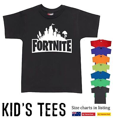 Fortnite Children Tshirt Victory Royale T-Shirts Victory Royale PS4 XBOX ONE tee