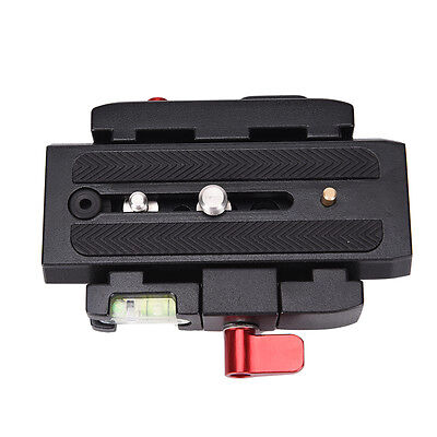 release plate QR clamp adapter mount for manfrotto 501 500ah 701HDV JH