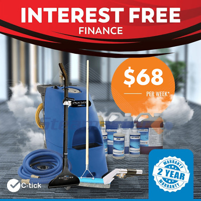 END OF FINANCIAL SALE Pex 500 Carpet Steam Cleaning Equipment