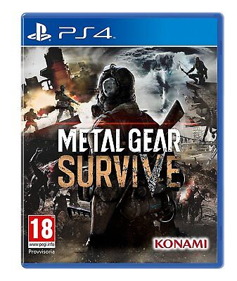 Metal Gear Survive - PS4 IMPORT neuf sous blister