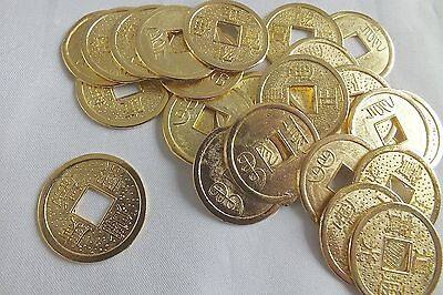 12 CHINESE LUCKY GOLD KINGS COIN CONIARE Münze WEDDING NEW YEAR BIRTHDAY PARTY